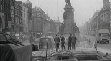 The Thing is Removed from O'Connell Street