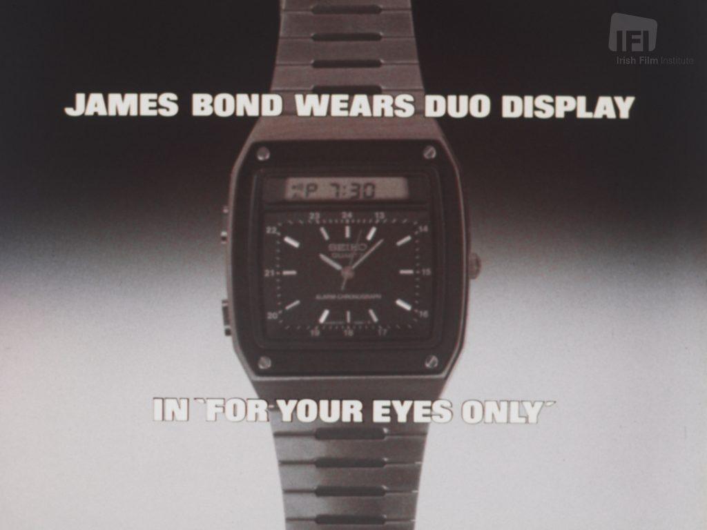 369dc1fb8cc6 Seiko  James Bond Watch - IFI Player