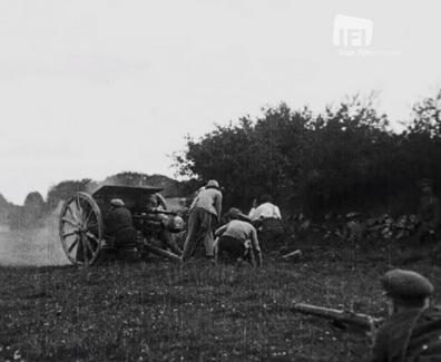 105 Irish National Army Sweeping On