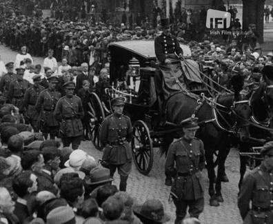 108 Dublin Mourns Dead President