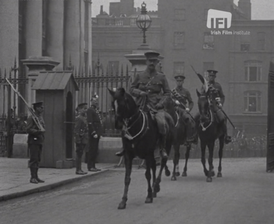 11 State Entry to Dublin Castle 1915