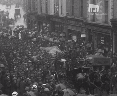 12 Lying In State Of O'Donovan Rossa And Soldiers