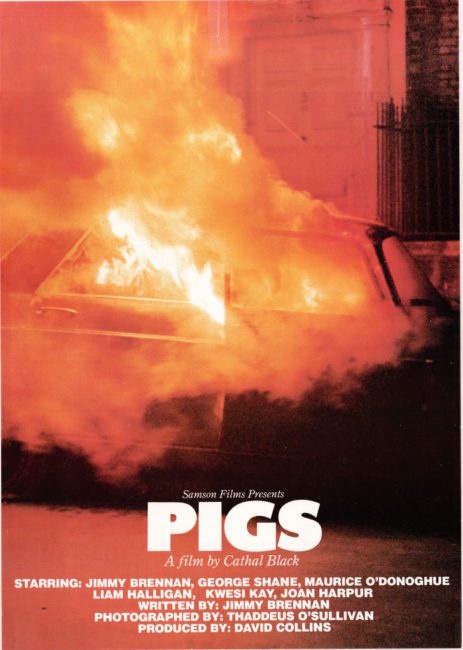 Pigs (1984) promotional poster