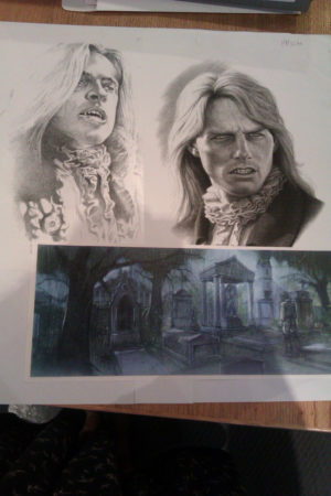 Interview With The Vampire sketches