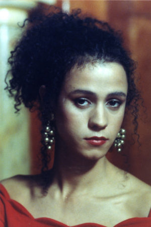 Jaye Davidson, in the role of Dil