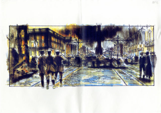 Michael Collins storyboard