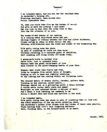 Tempest (poem)