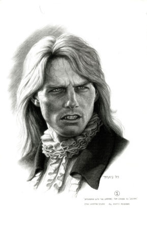 Sketch of Tom Cruise as Lestat